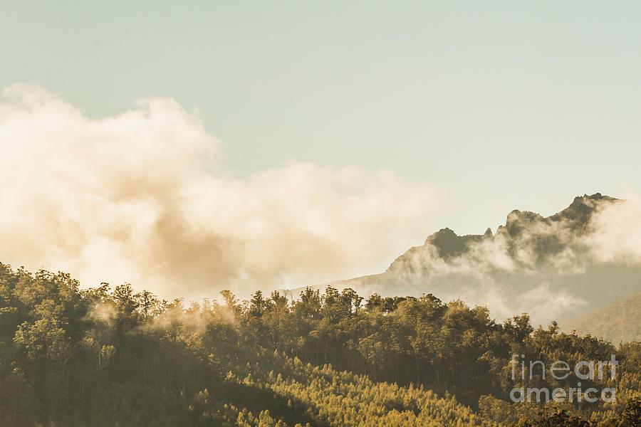 Landscape Photograph - Wild Morning Peak by Jorgo Photography - Wall Art Gallery