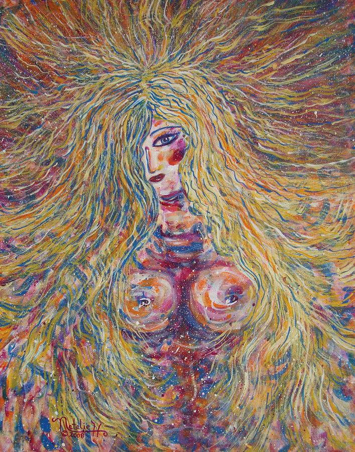 Nude Painting - Wild Passion by Natalie Holland