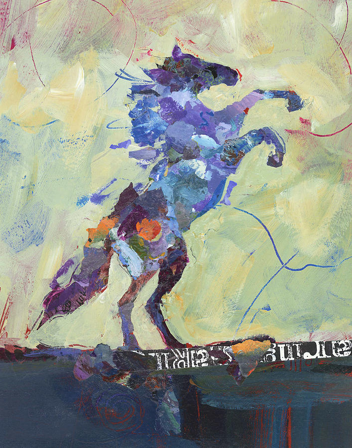 Horse Painting - Wild Pony by Shelli Walters
