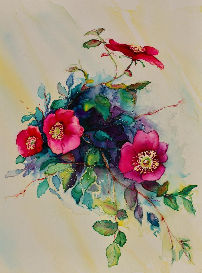 Wild Roses by Barbara Pease