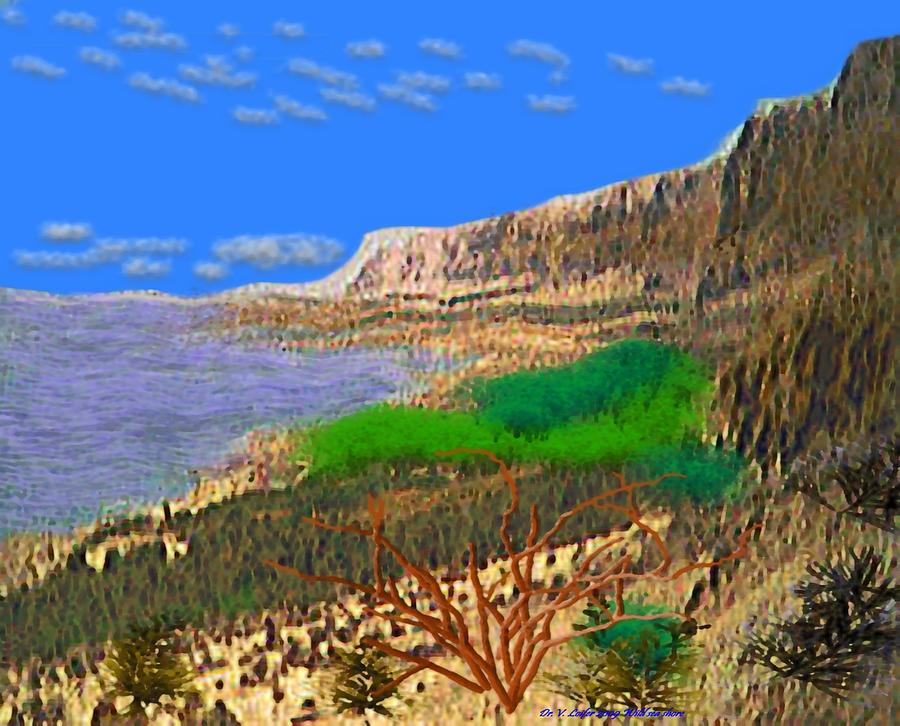 Sea Digital Art - Wild Seashore by Dr Loifer Vladimir