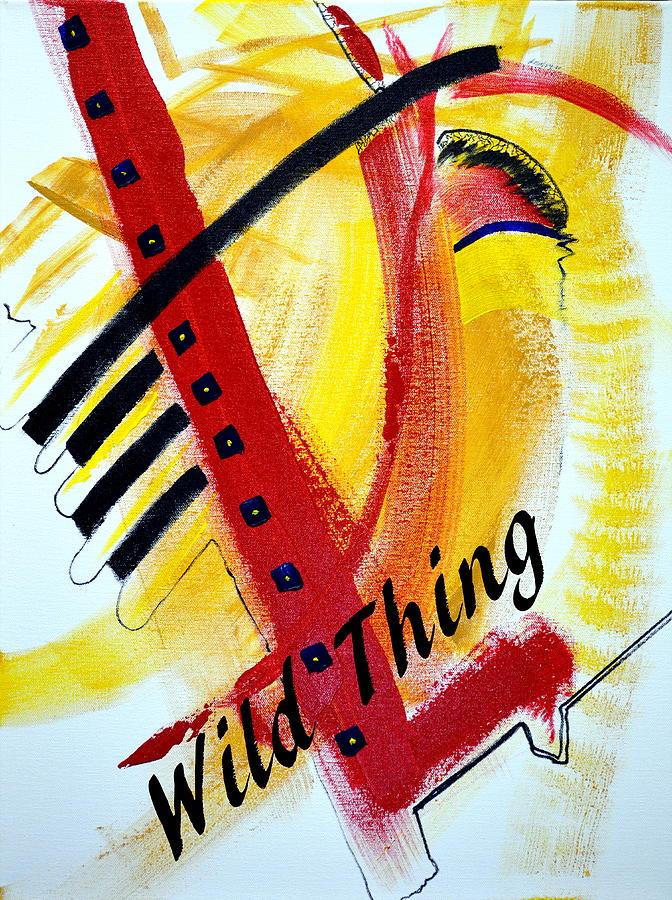 Jake Brown Painting - Wild Thing by Jake Brown