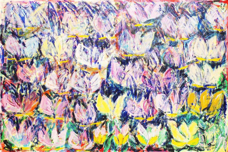 Wild Tulips Painting by Joan De Bot