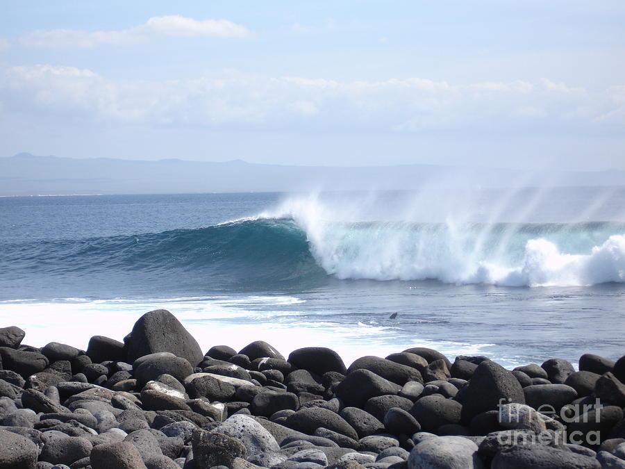 Landscape Photograph - Wild Wave by Chad Natti