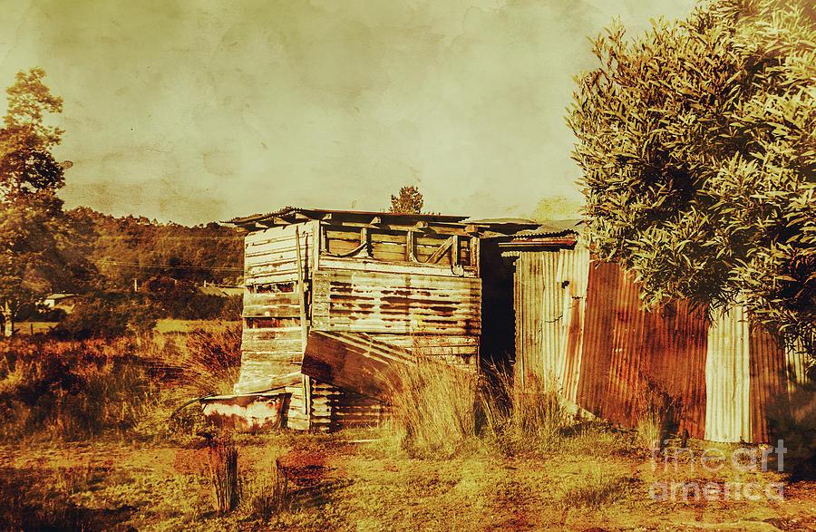 Australia Photograph - Wild West Australian Barn by Jorgo Photography - Wall Art Gallery