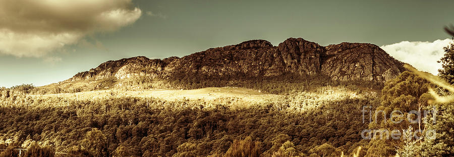 Panorama Photograph - Wild West Mountain Panorama by Jorgo Photography - Wall Art Gallery