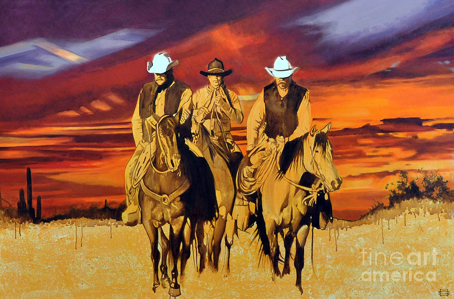 Arizona Sunset by Michael Stoyanov