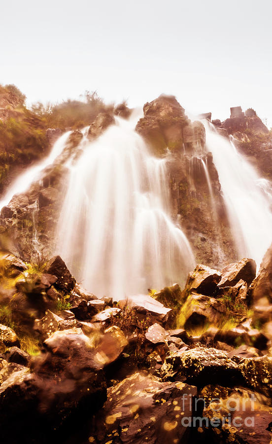 Landscape Photograph - Wild West Water Fall by Jorgo Photography - Wall Art Gallery