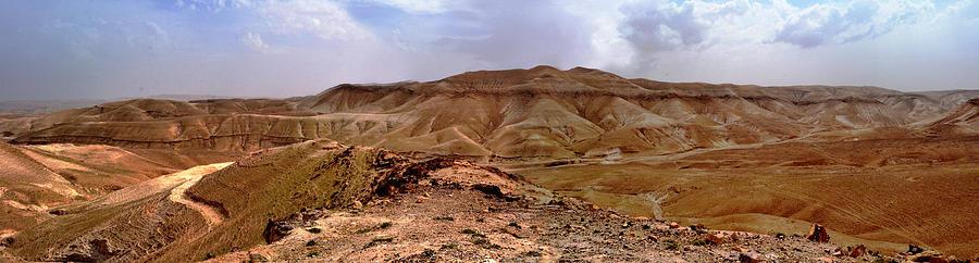 Landscape Photograph - Judean Desert by Atul Daimari