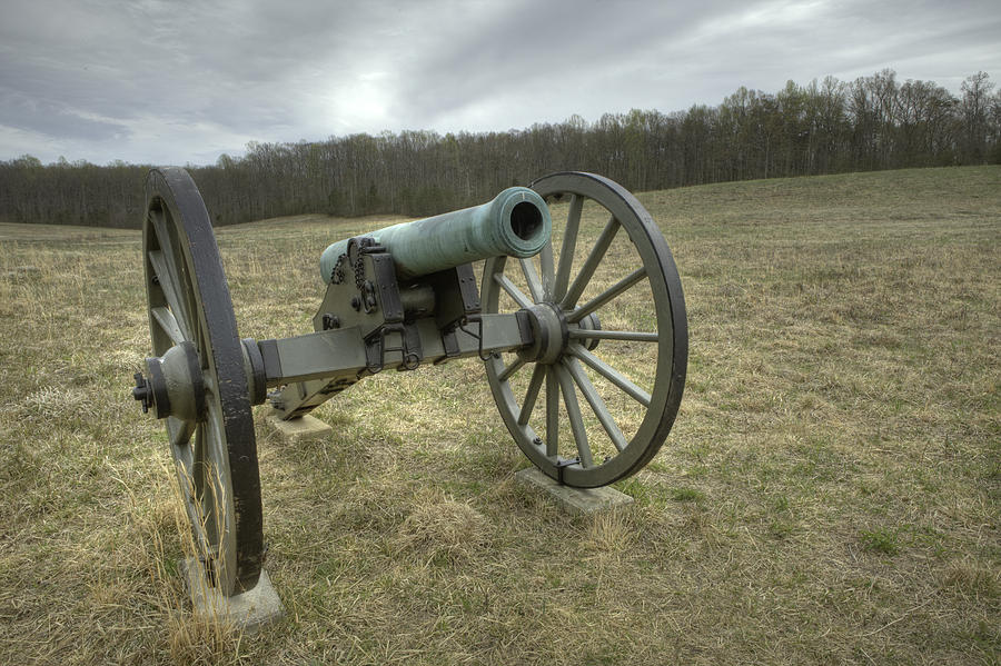 Cannon Photograph - Wilderness Cannon by Harry H Hicklin