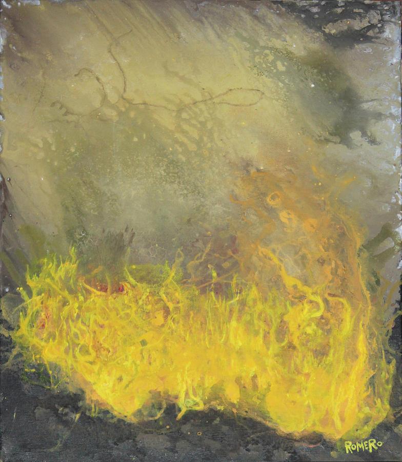 Acrylic Painting - Wildfire by Antonio Romero