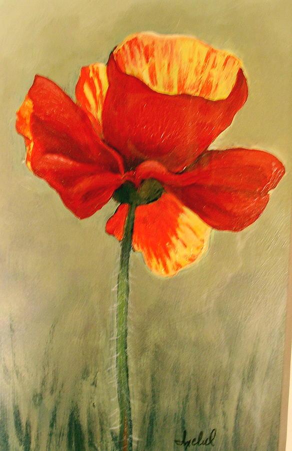 Flower Painting - Wildflower 2 by Ixchel Amor