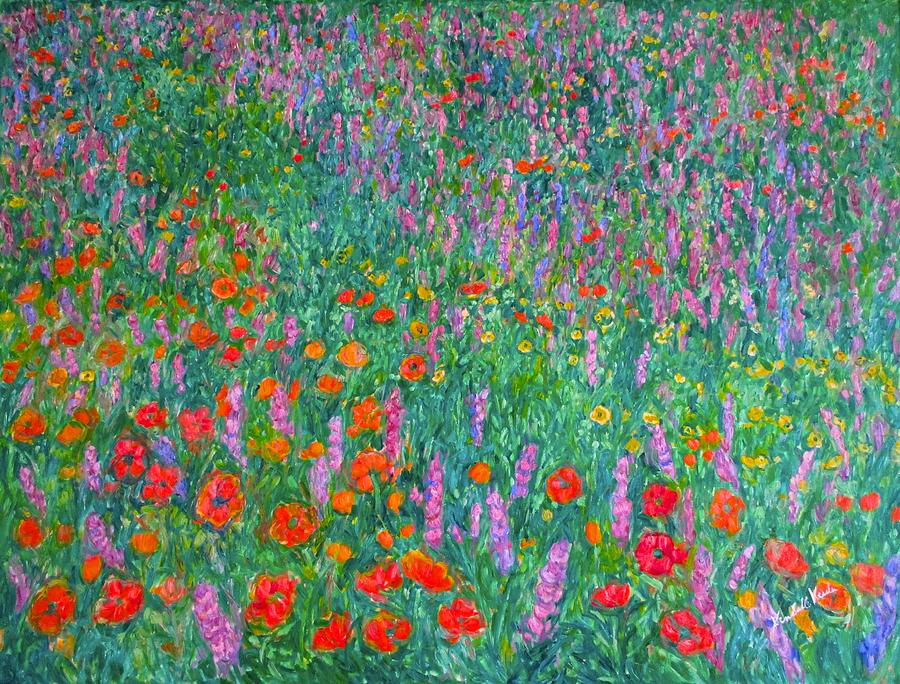 Impressionism Painting - Wildflower Current by Kendall Kessler