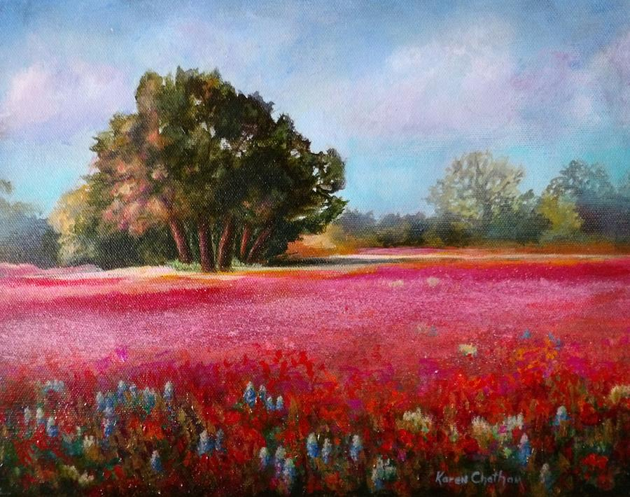 Wildflower Fields Forever by Karen Kennedy Chatham