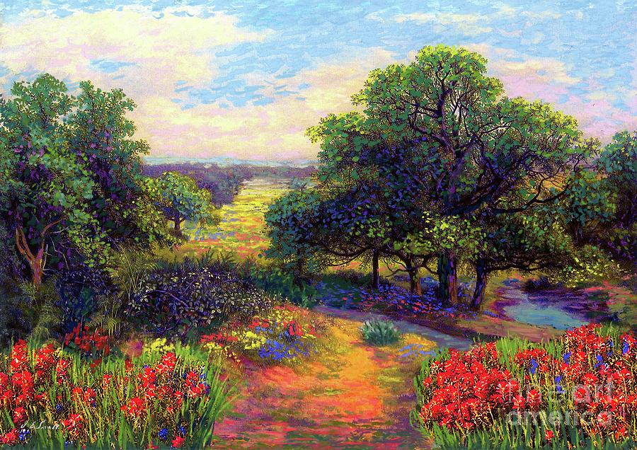 Wildflower Painting - Wildflower Meadows Of Color And Joy by Jane Small