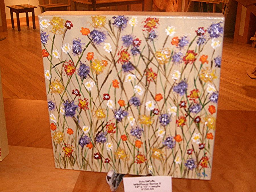 wildflower series IV Painting by Rita  DiCello