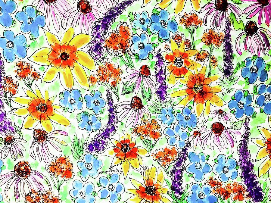 Wildflowers  by Monique Faella