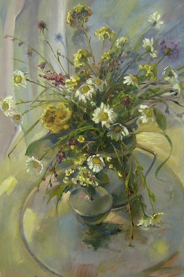 Armenia Painting - Wildflowers by Tigran Ghulyan