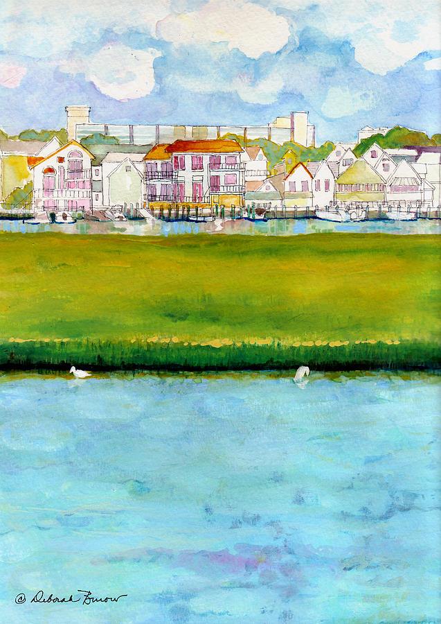 Wetlands Painting - Wildwood Wetlands by Deborah Burow