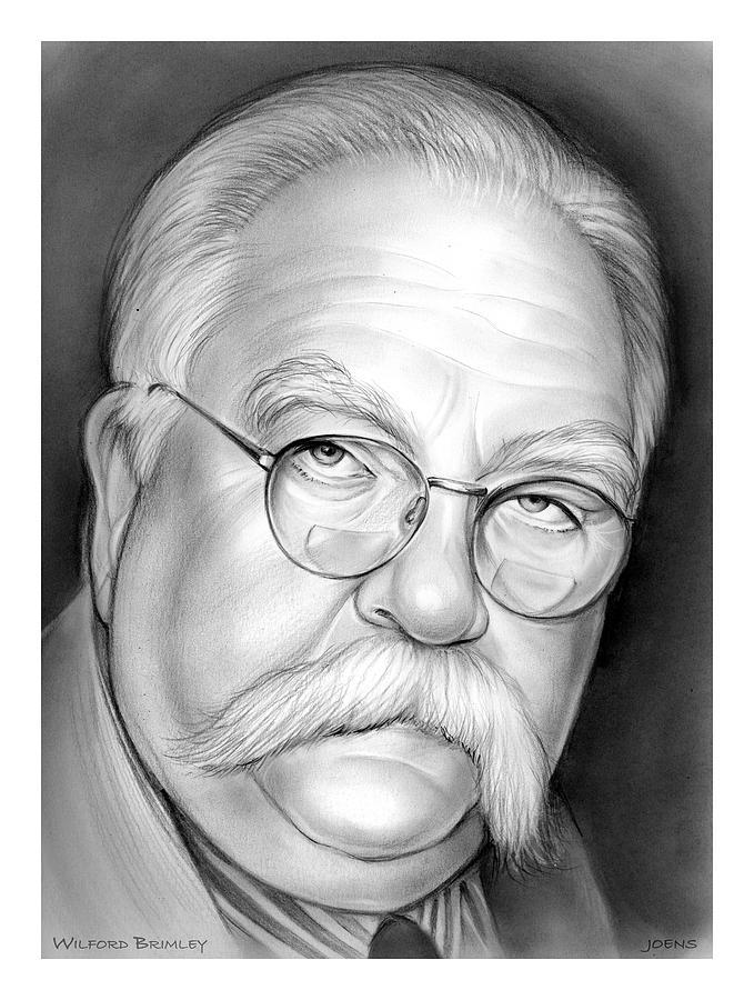 Wilford Brimley Drawing