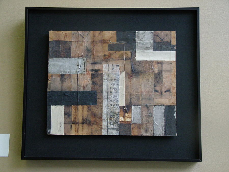 Abstract Mixed Media - Wilful Vestiges Vii by Debbie Danelly