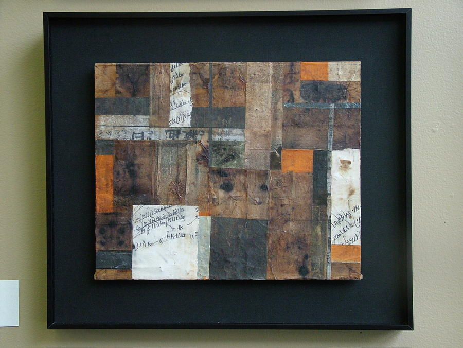 Abstract Mixed Media - Wilful Vestiges Viii by Debbie Danelly