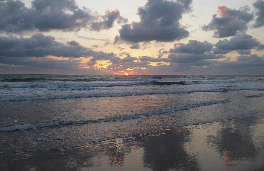 Sunrise Painting - Will It Rain? by Rayne Van Sing