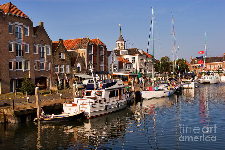 Travel Photograph - Willemstad by Louise Heusinkveld