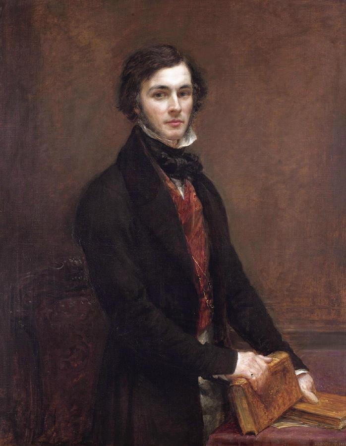 John Linnell Painting - William Coningham by John Linnell