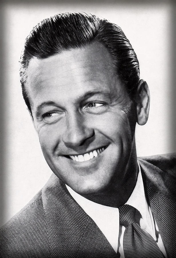 Actor Photograph - William Holden Actor by Daniel Hagerman