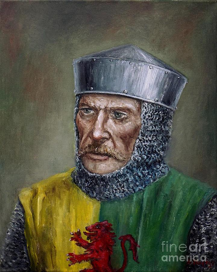 William Marshal Painting by Arturas Slapsys