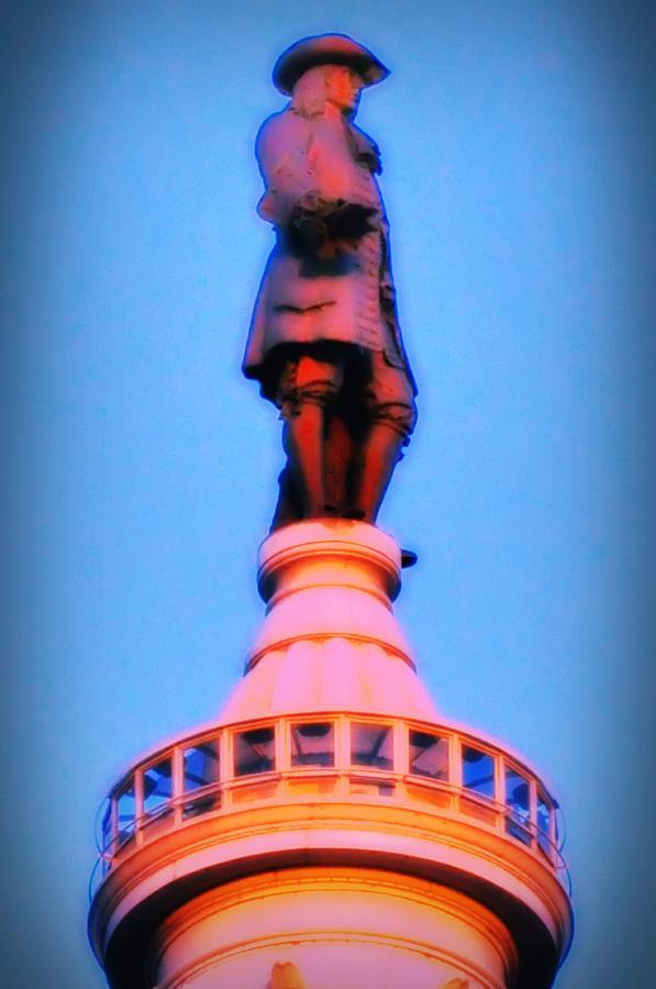 William Penn Photograph - William Penn - City Hall In Philadelphia by Bill Cannon