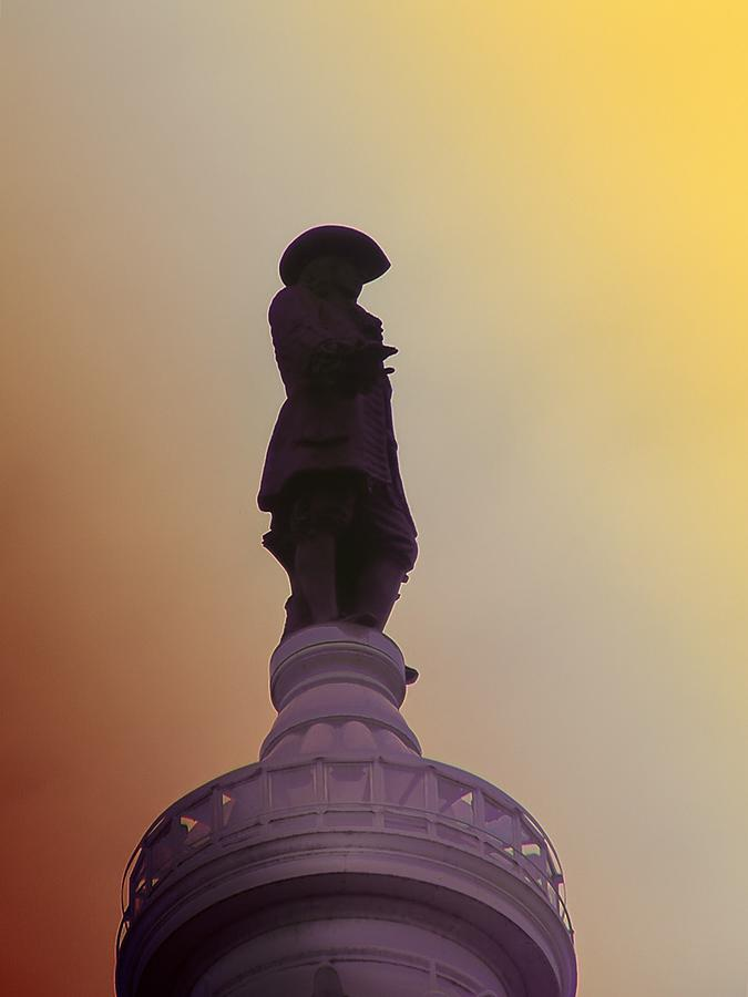 Philadelphia Photograph - William Penn by Bill Cannon