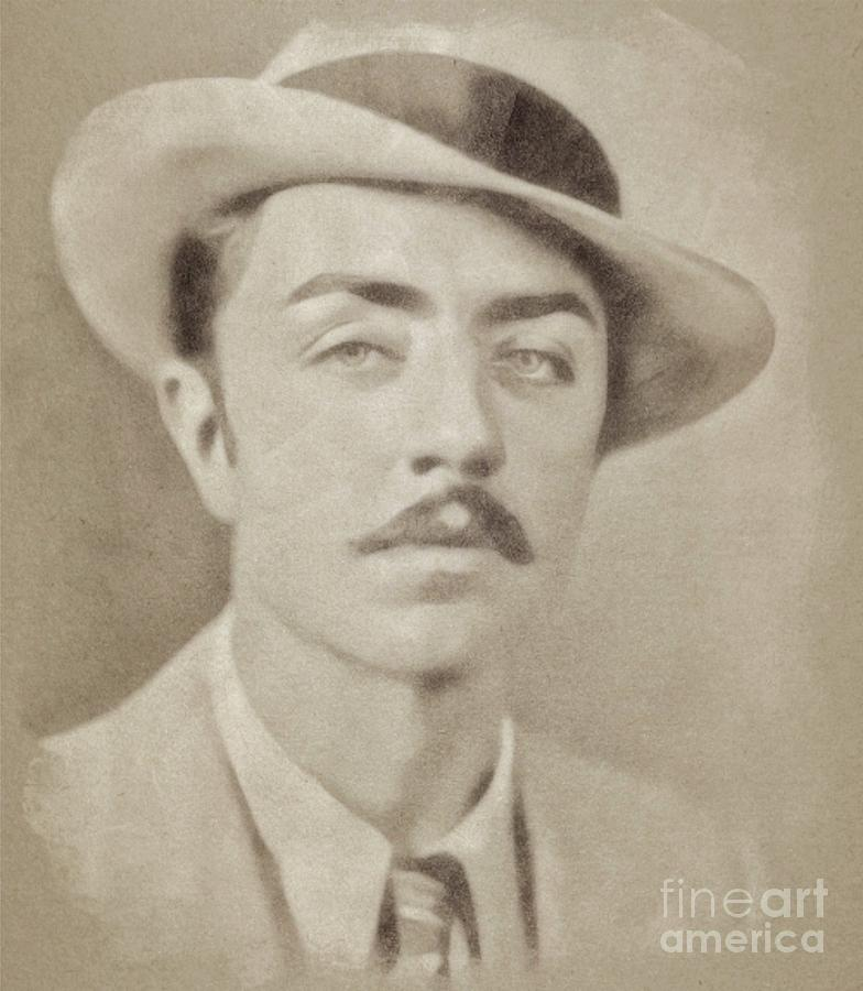 William Powell, Hollywood Legend By John Springfield Drawing