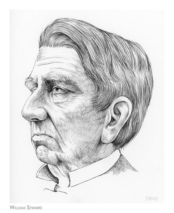 William Seward Drawing