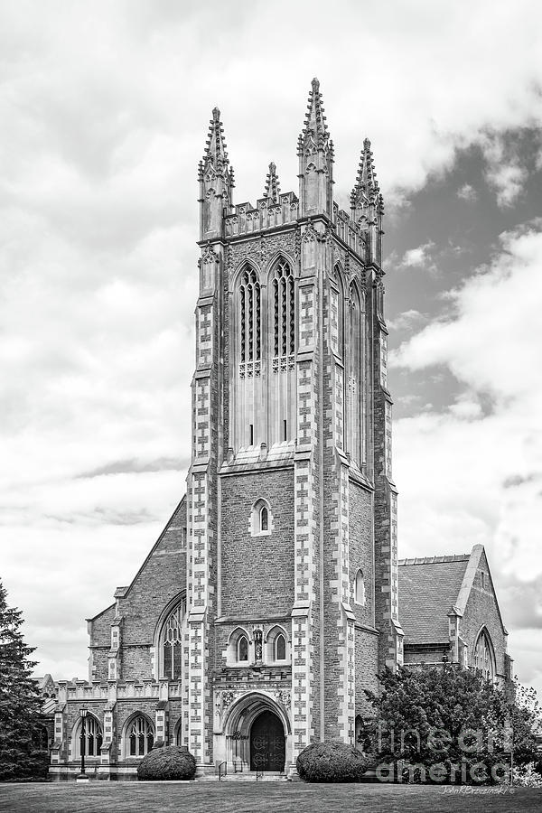 Williams Photograph - Williams College Thompson Memorial Chapel by University Icons