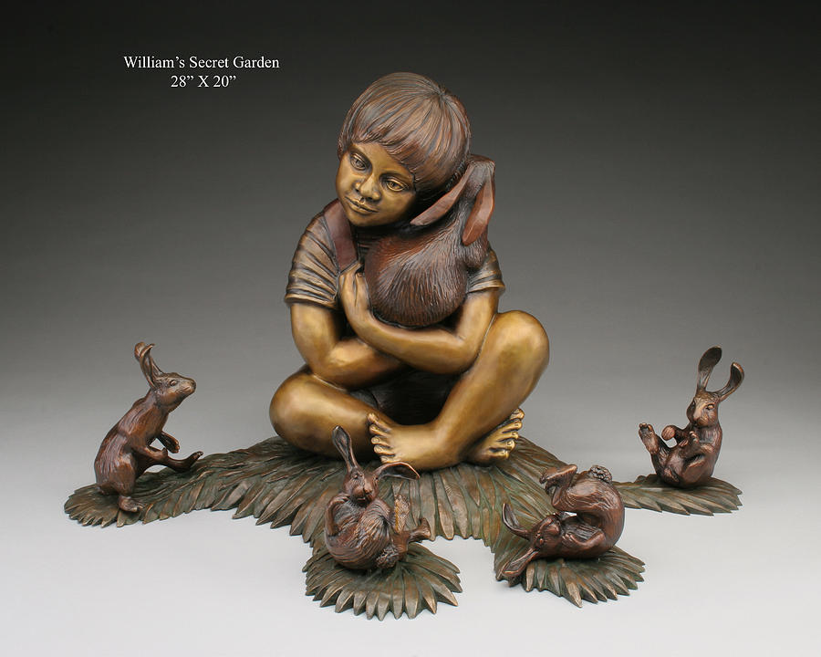 Williams Secret Garden Sculpture by Pokey  Park