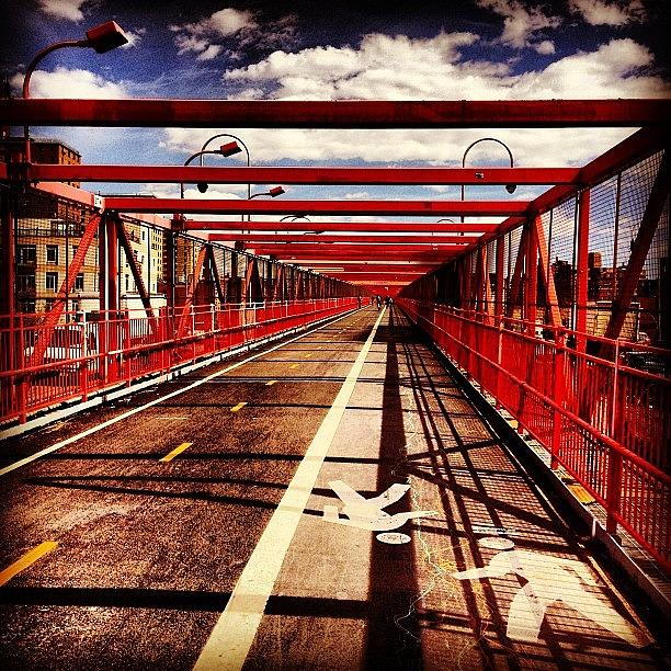 New York City Photograph - Williamsburg Bridge - New York City by Vivienne Gucwa