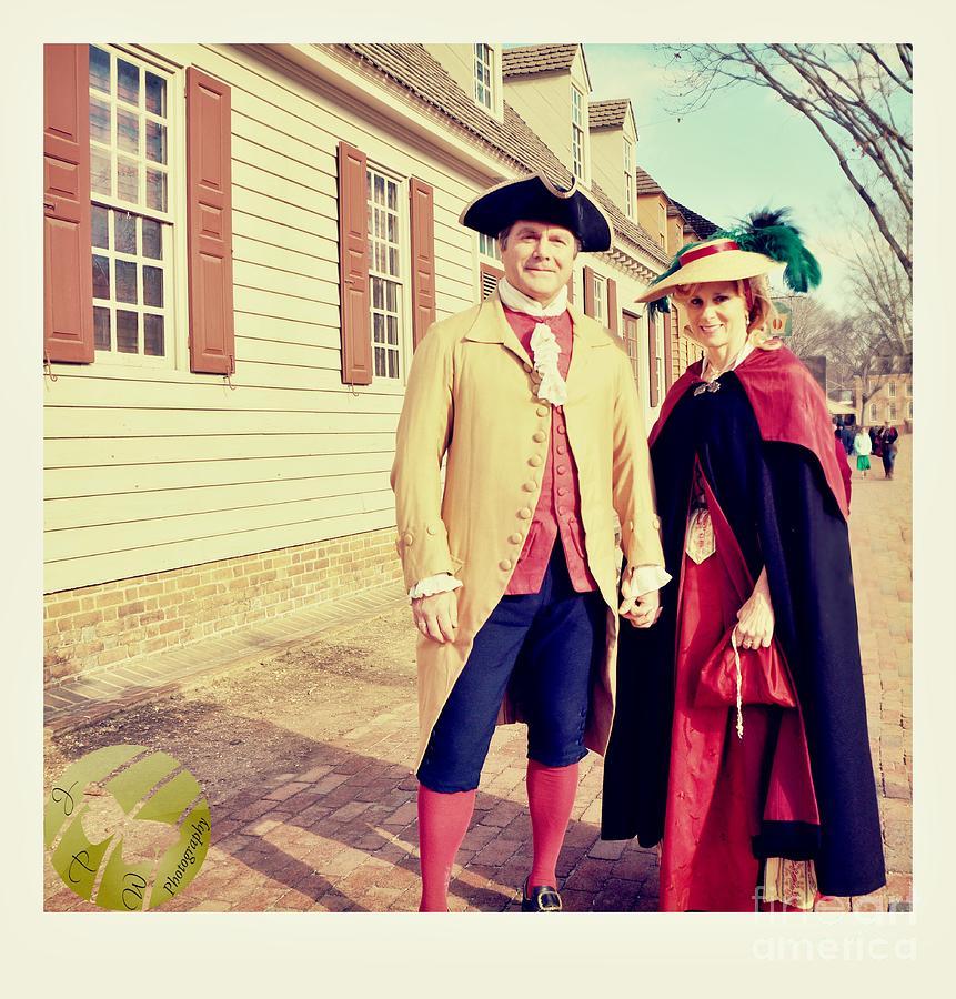 Williamsburg Couple Photograph