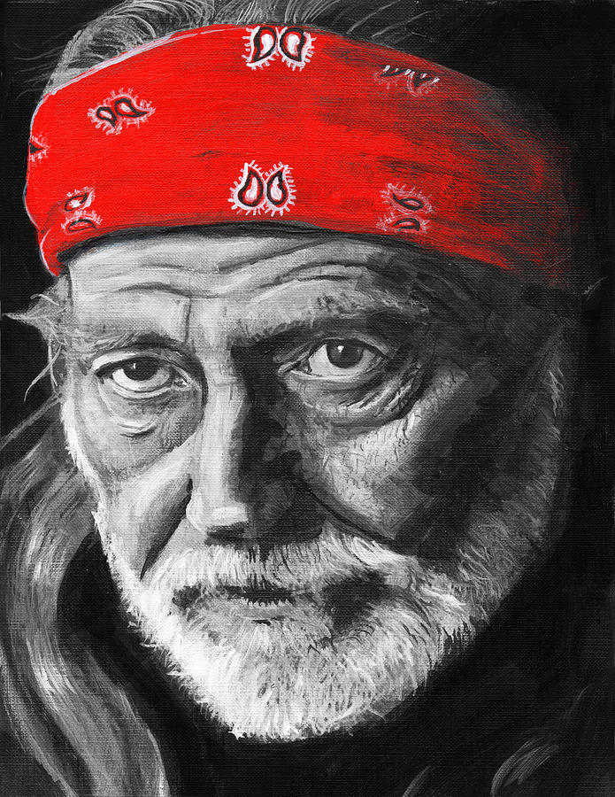 Willie Painting - Willie by Charles  Bickel