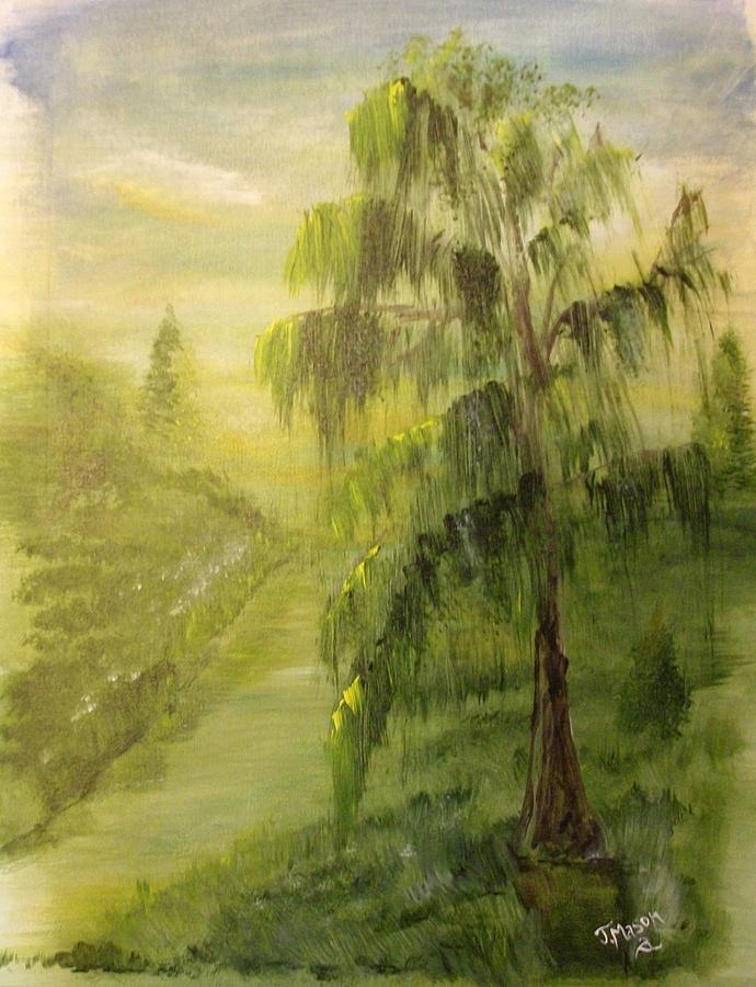 Willow Painting - Willow Bend by Jessica Mason
