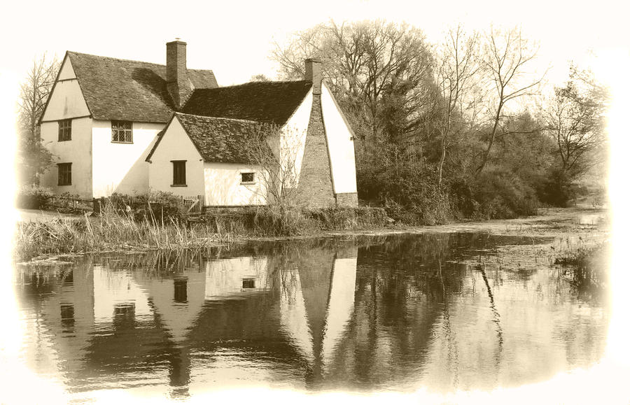 John Constable Photograph - Willy Lots Cottage by Terence Davis