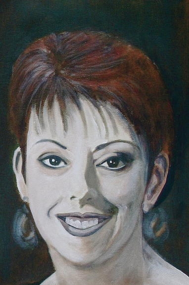 Portrait Painting - Wilma by Fiona Jack