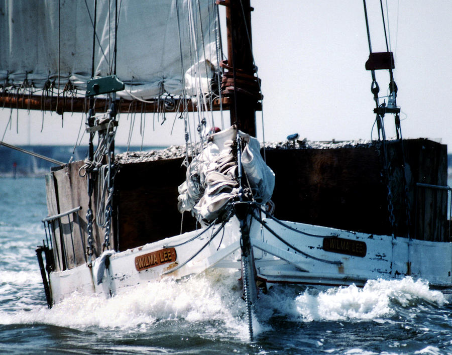 Boat Photograph - Wilma Lee by Skip Willits