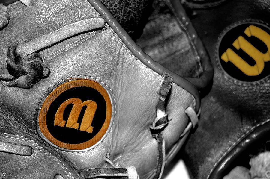 Baseball Photograph - Wilson 2 by Jame Hayes