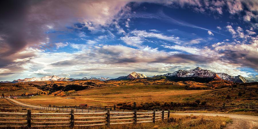 Wilson Mesa At Autumn Photograph
