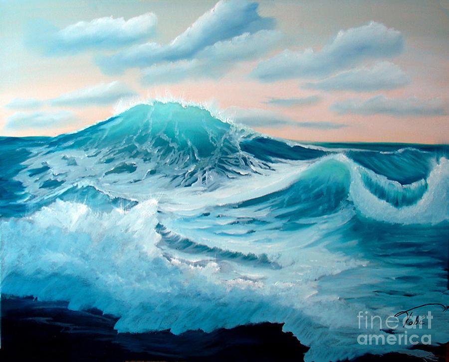 Tobi Painting - Wind And Surf II by Tobi Czumak