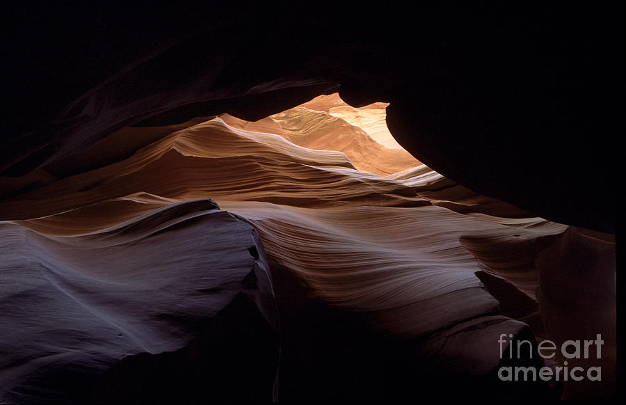 Antelope Canyon Photograph - Wind and Water by Kathy McClure