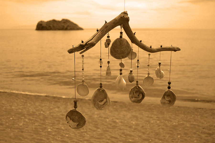 Wind Chime Photograph - Wind Chime by Daren Griffin