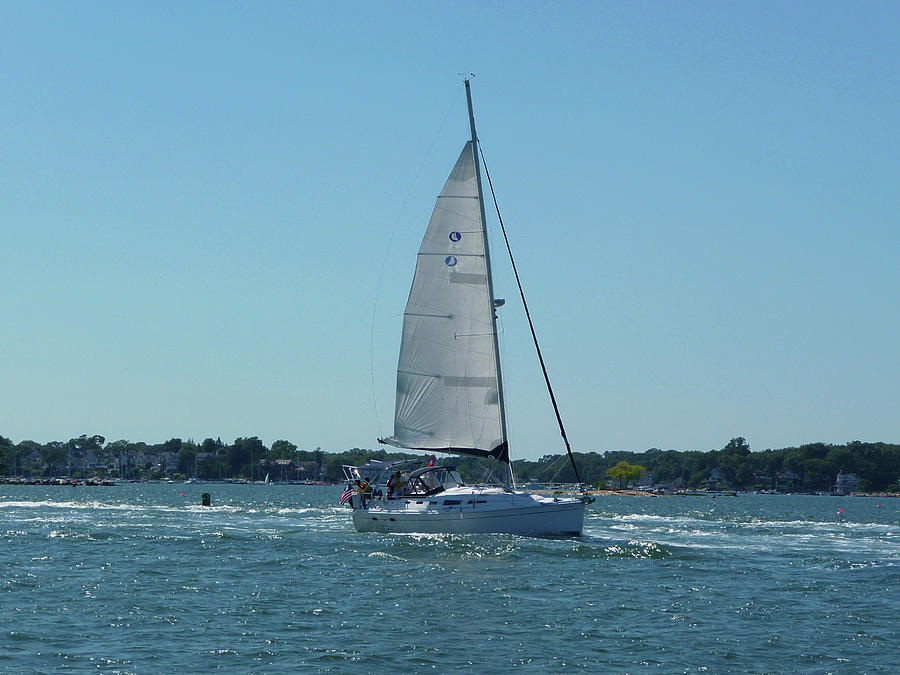 Sailing Photograph - Wind In The Sails by Margie Avellino